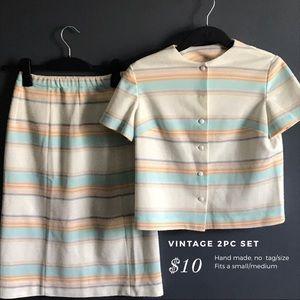 Vintage 2pc Set